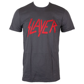 tričko pánské Slayer - Distressed Logo - ROCK OFF - SLAYTEE28MC