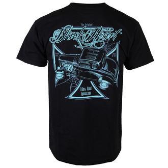 tričko pánské BLACK HEART - Black Widow - BLK - 001-0012-BLK