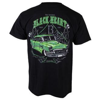 tričko pánské BLACK HEART - Roadmaster Deluxe - BLK - 001-0007-BLK