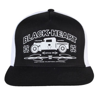 kšiltovka BLACK HEART - Pick Up - BLK/WHT, BLACK HEART