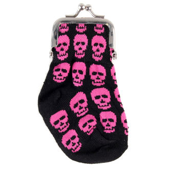 peněženka Lebka - Pink
