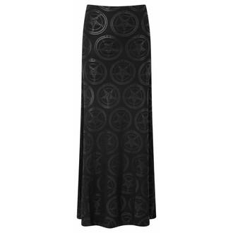 sukně dámská KILLSTAR - Baphomet - Black, KILLSTAR