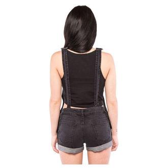 kraťasy dámské IRON FIST - Wishbone - Black, IRON FIST