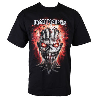 tričko pánské Iron Maiden - Eddie - Exploding Head - BLK - ROCK OFF - IMTEE51MB