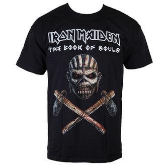 tričko pánské Iron Maiden - Axe - BLK - ROCK OFF, ROCK OFF, Iron Maiden
