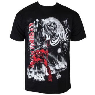 tričko pánské Iron Maiden - NOTB Jumbo - BLK - ROCK OFF, ROCK OFF, Iron Maiden