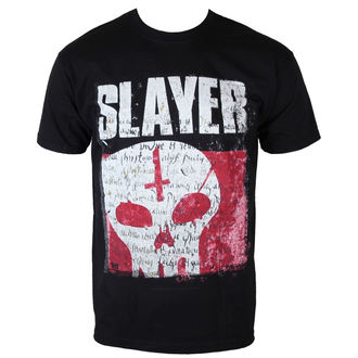 tričko pánské Slayer - Undisputed Attitude Skull - BLK - ROCK OFF, ROCK OFF, Slayer