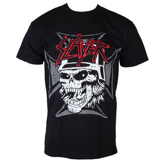 tričko pánské Slayer - Graphic Skull - Black - ROCK OFF, ROCK OFF, Slayer