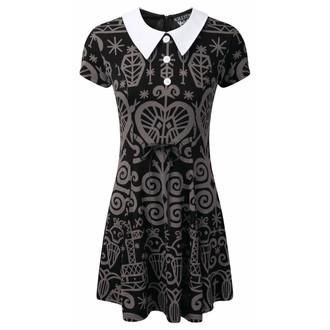 šaty dámské KILLSTAR - Voodoo Doll - Grey - KIL259