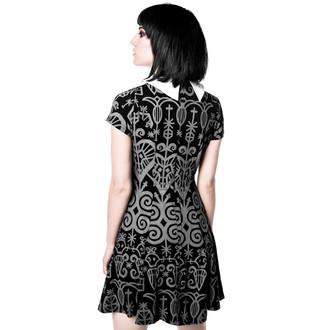 šaty dámské KILLSTAR - Voodoo Doll - Grey