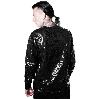 mikina (unisex) KILLSTAR - Voodoo - Black, KILLSTAR