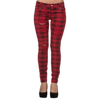 kalhoty dámské BANNED - TR4053R/RED
