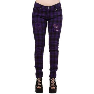 kalhoty dámské BANNED - TR4053R/PUR