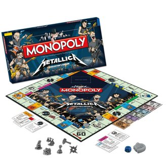 hra Metallica - Rock Band Monopoly - WM-MONO-METALLICA
