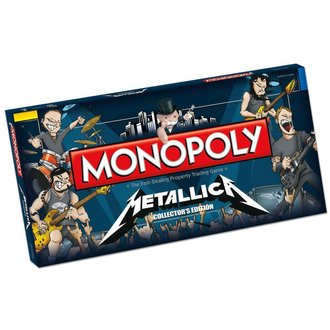 hra Metallica - Rock Band Monopoly, NNM, Metallica