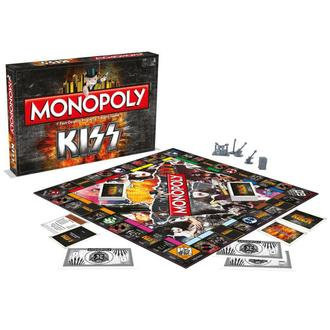 hra KISS - Rock Band Monopoly, NNM, Kiss