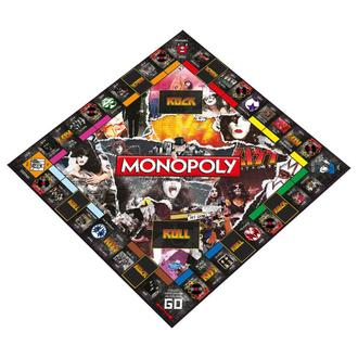hra KISS - Rock Band Monopoly, Kiss