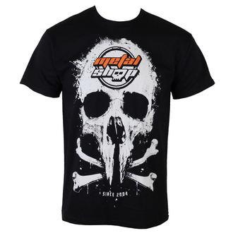 tričko pánské Metalshop - Black - MS015