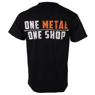 tričko pánské Metalshop - Black, METALSHOP