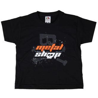 tričko dětské Metalshop - Black, METALSHOP