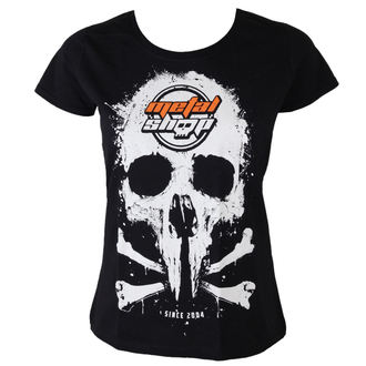 tričko dámské Metalshop - Black - MS017
