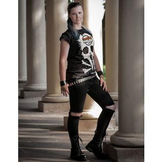 tričko dámské Metalshop - Black, METALSHOP