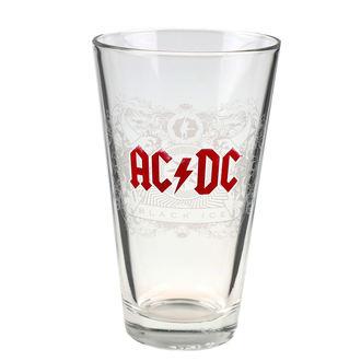 sklenice AC/DC - F.B.I., F.B.I., AC-DC
