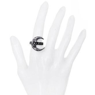 prsten RESTYLE - Skull Moon Silver, RESTYLE