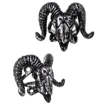 prsten RESTYLE - Ram Skull Silver - RES020