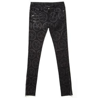 kalhoty dámské KILLSTAR - Baphomet - KIL287