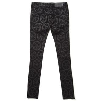 kalhoty dámské KILLSTAR - Baphomet