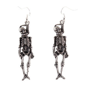 náušnice Skull - PSY324