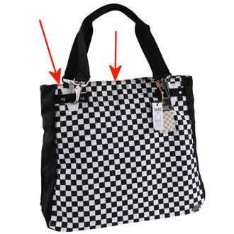 kabelka , taška VANS - Chk Should Bag - Black/White - POŠKOZENÁ, VANS