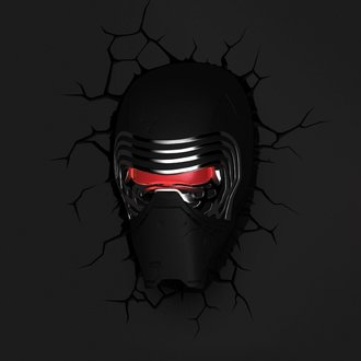 dekorace Star Wars - Episode VII 3D LED Light Kylo Ren