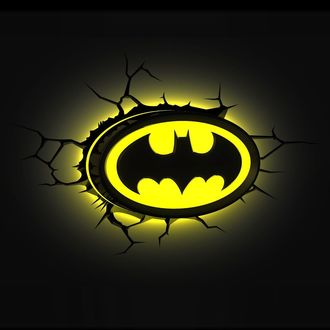 dekorace Batman - DC Comics 3D LED Light