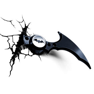 dekorace Batman - DC Comics 3D LED Light Batarang