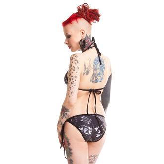 plavky dámské VIXXSIN - Anatomy Bikini - Black, VIXXSIN
