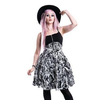 šaty dámské HEARTLESS - Walker - Black/White