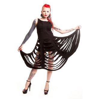 šaty dámské HEARTLESS - Deadly - Black - POI114