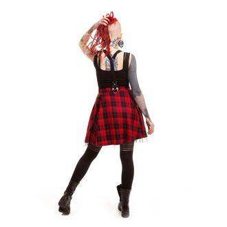 sukně dámská HEARTLESS - Lucille - Red, HEARTLESS