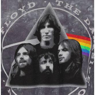 tričko pánské Pink Floyd - Dark Side Group Tie-Dye - LIQUID BLUE, LIQUID BLUE, Pink Floyd