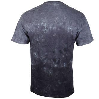 tričko pánské Pink Floyd - Dark Side Group Tie-Dye - LIQUID BLUE