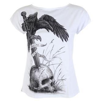 tričko dámské ALISTAR - Win Or Die - White - ALI306