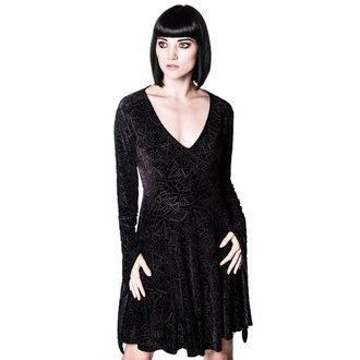 šaty dámské KILLSTAR - Burn Baby Angel - Black, KILLSTAR