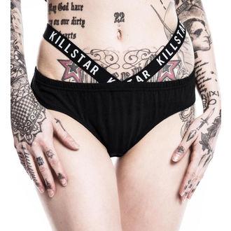 kalhotky dámské KILLSTAR - Rise N Rule Cut Out - Black - KIL315