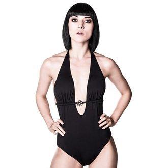 plavky dámské KILLSTAR - Ceremony Monokini - Black, KILLSTAR
