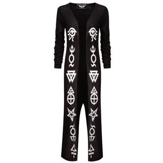 svetr dámský KILLSTAR - Spook Knit Cardi - Black