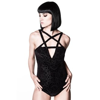 body dámské KILLSTAR - Burn Baby - Black - KIL320