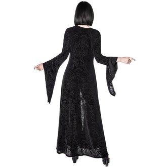 šaty dámské (přehoz) KILLSTAR - Burn Baby Duster - Black