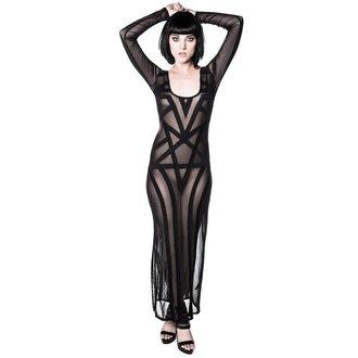 šaty dámské KILLSTAR - Zandra Mesh - Black, KILLSTAR